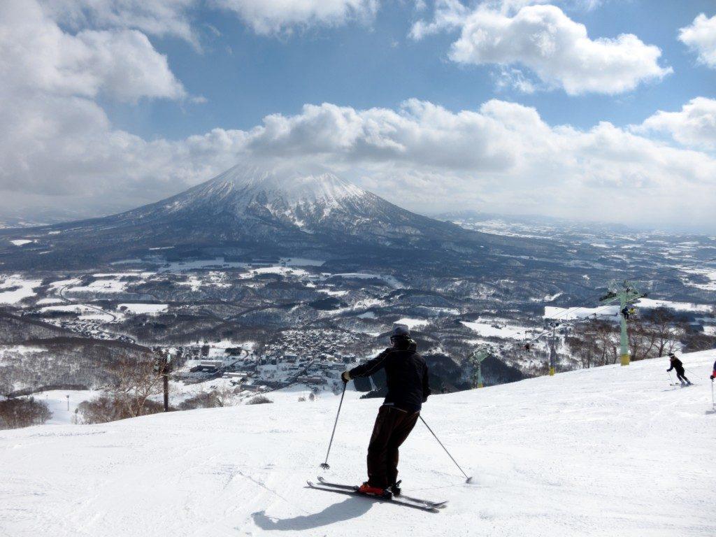 Ski in Hokkaido, Japan