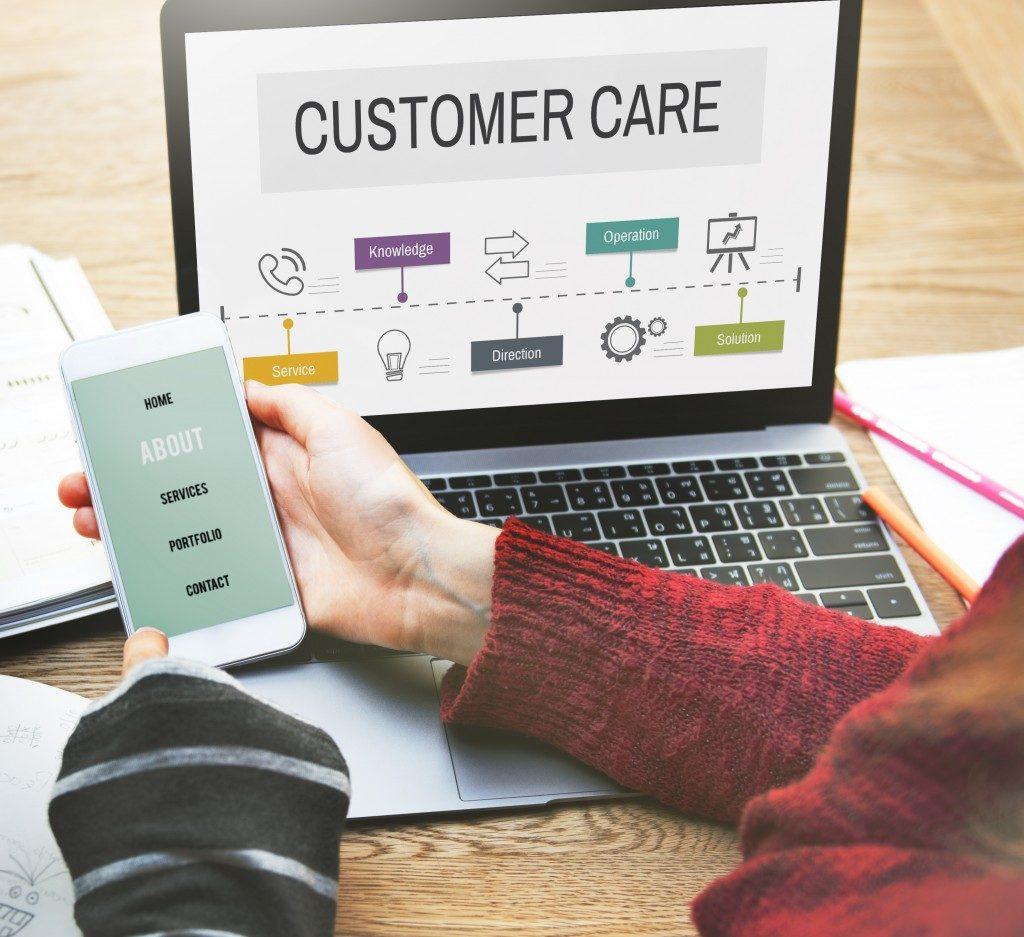 customer care and feedback