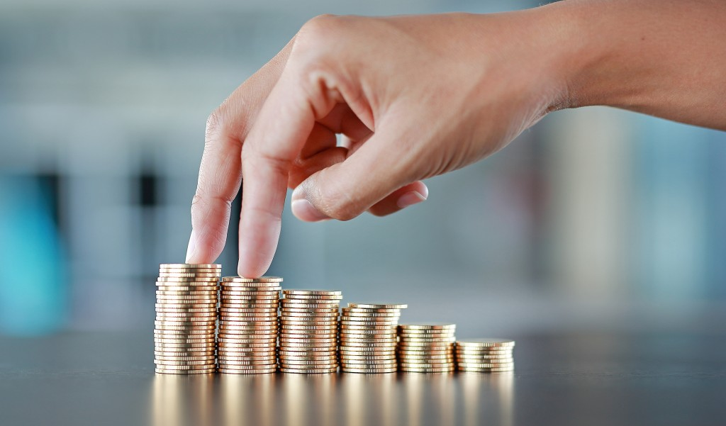 savings and investment concept