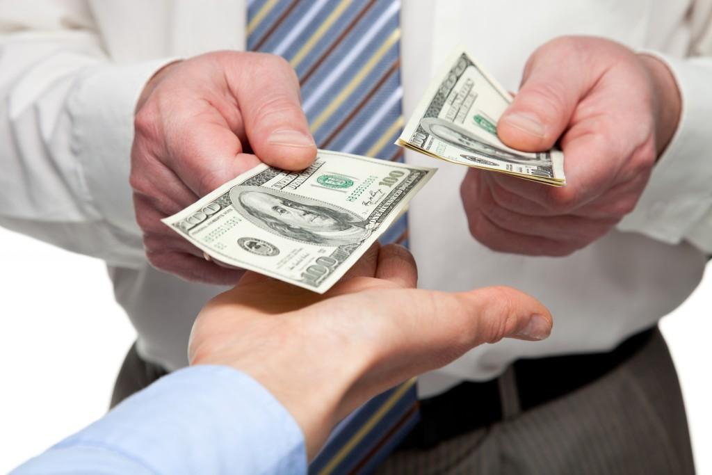 giving bonuses