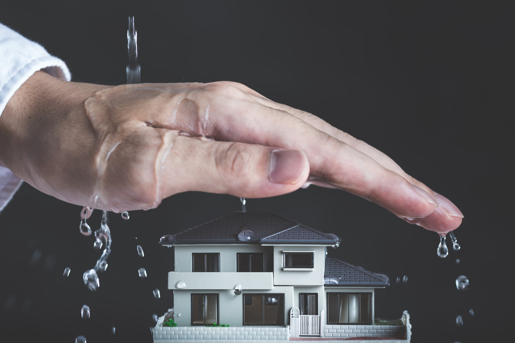 protecting house asset